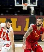 Galatasaray Kızılyıldız'a boyun eğdi