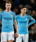 Manchester City evinde yenildi