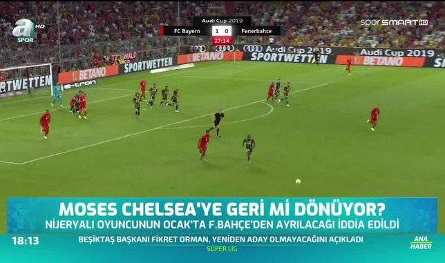 Moses Chelsea'ye geri mi dönüyor?