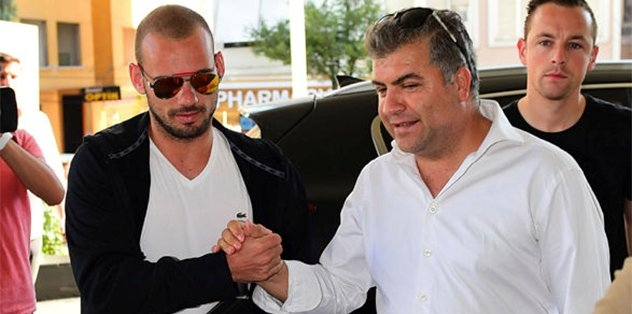 İşte Sneijder'in son sözleri