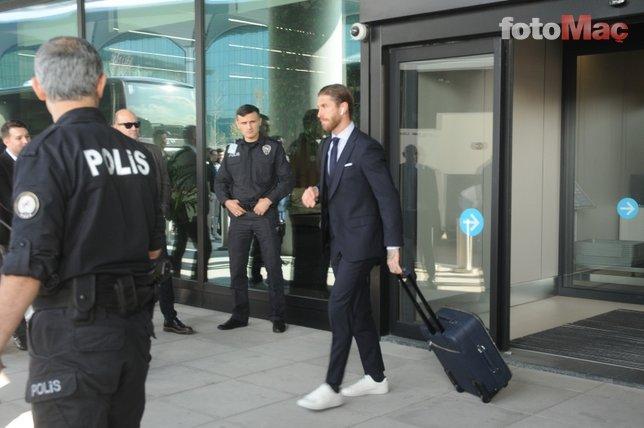 Real Madrid İstanbul'da! İşte o görüntüler