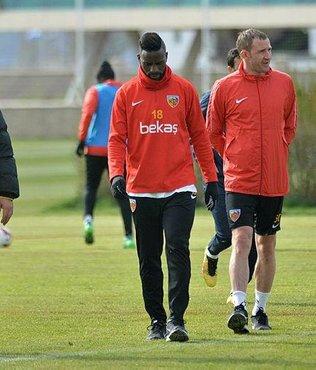 İstikbal Mobilya Kayserispor Alanyaspor maçı hazırlıklarını sürdürdü
