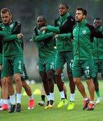 Bursaspor'da kupa maçı hazırlıkları başladı