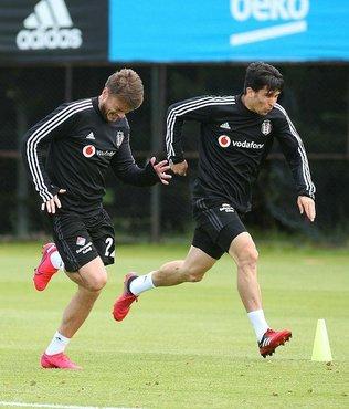 Beşiktaş hazırlıklarına çift idmanla devam etti