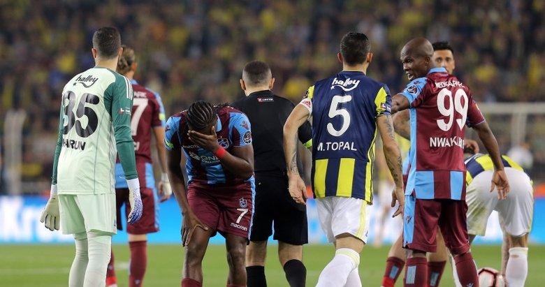 Fenerbahçe - Trabzonspor maçından kareler...