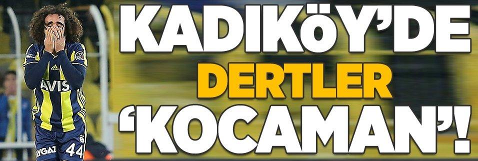 Kadıköy'de dertler 'Kocaman'!