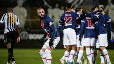 Angers PSG 0-1 (MAÇ SONUCU - ÖZET)