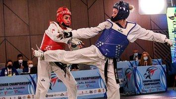 Avrupa Taekwondo Şampiyonası'nda 1 altın 2 gümüş madalya