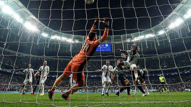 Beşiktaş'ın yediği goller kopya!