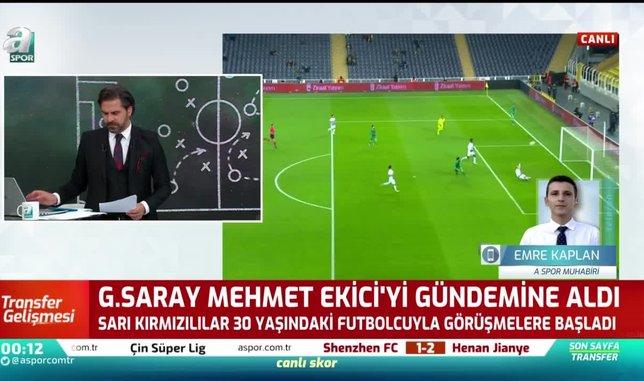 galatasaray mehmet ekici ile gorusmelere basladi 1597095865013 - Galatasaray'dan Kayserispor'a transfer teklifi gitti! Para ve 3 futbolcu