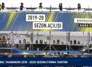 Fenerbahçe futbol takımı 2019-20 sezonu forma tanıttı
