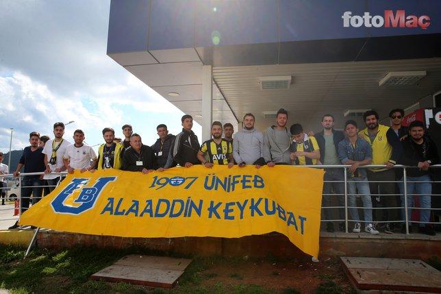 Fenerbahçe kafilesi Gazipaşa'ya geldi