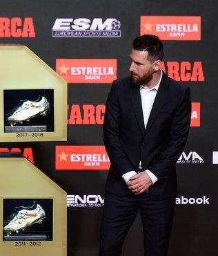 Lionel Messi 6'ncı kez Altın Ayakkabı'nın sahibi