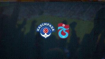 Kasımpaşa - Trabzonspor canlı izle | Süper lig maçı
