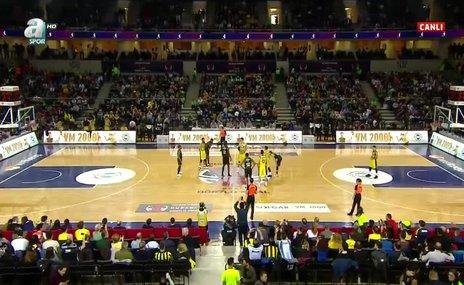 Darüşşafaka Tekfen 71-74 Fenerbahçe Beko | MAÇI İZLE