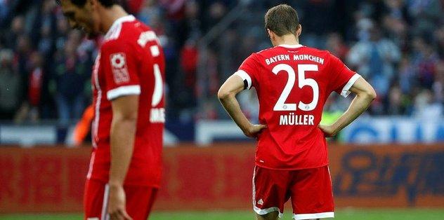 Bayern kötü gidişi sürdürdü!
