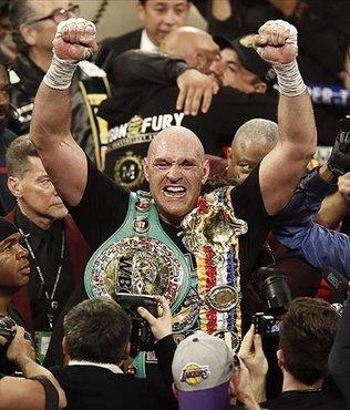 Fury stuns Wilder to claim heavyweight title