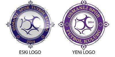 Osmanlıspor Kulübünün logosu değişti