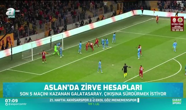 Galatasaray liderlik hesapları yapıyor