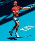 Federer, Williams ve Nadal destek için korta çıkıyor!