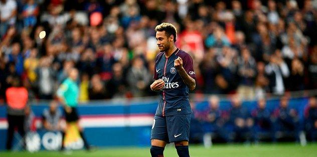 Barça'ya bir şok da Neymar'dan!