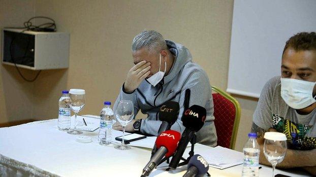 Marius Sumudica'dan Gaziantep FK'ya gözyaşlarıyla veda #