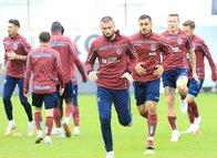 Trabzonspor'da Akhisarspor maçı hazırlıkları (5 ekim 2018)