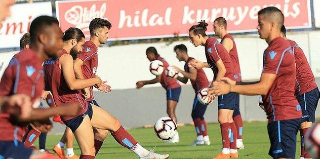 Trabzonspor'da Medipol Başakşehir maçı hazırlıkları sürdü