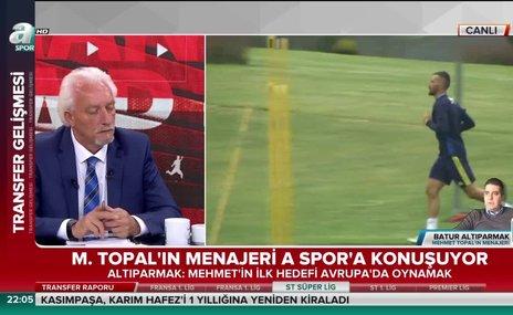 Menajeri açıkladı! Mehmet Topal, Selçuk İnan, Caner Erkin...