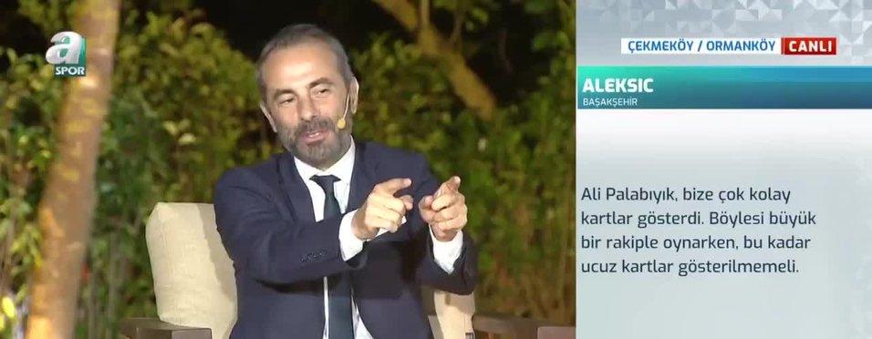 """""""Hakem maçı normal yönetince Başakşehir'in kartları arttı"""""""