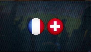 Fransa- İsviçre maçında ilk 11'ler belli oldu!