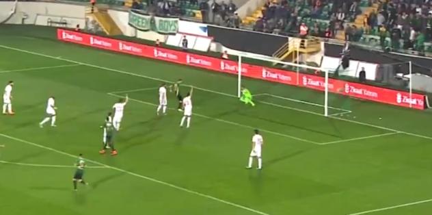 İşte Akhisarspor'un golü | İZLEYİN