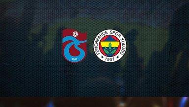 Trabzonspor - Fenerbahçe maçı ne zaman, saat kaçta ve hangi kanalda canlı yayınlanacak? | Süper Lig