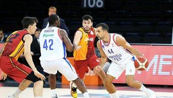 Efes Galatasaray farklı geçti!
