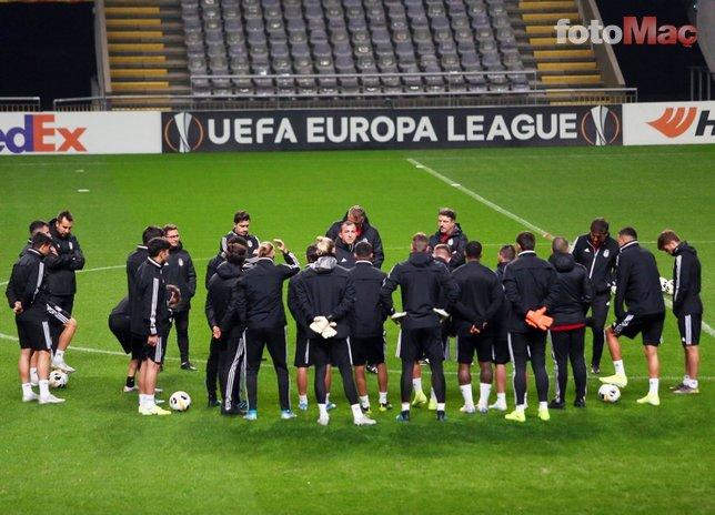 İşte Braga-Beşiktaş maçı 11'leri