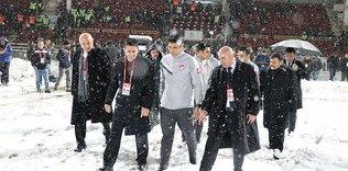 Boluspor - G.Saray maçı için TFF'den açıklama