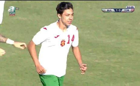 GOL l U19 Türkiye 0 - 1 Bulgaristan