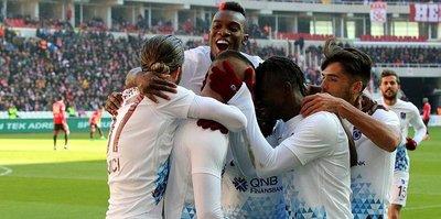 Trabzon şahlandı