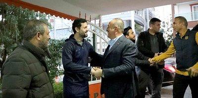 Bakan Çavuşoğlu Alanyapor Kulübünü ziyaret etti
