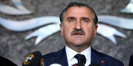 Bakan Bak, Mustafa Koç'u tebrik etti