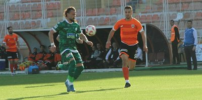 Adanaspor ve Giresunspor yenişemedi