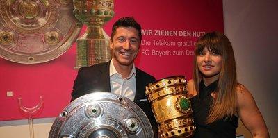 Lewandowski çifti koronavirüs ile mücadeleye 1 milyon Euro bağışladı