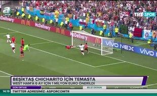 Beşiktaş Chicharito ile temasta