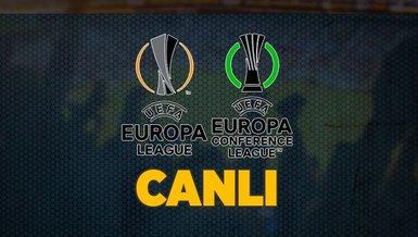 UEFA Avrupa Ligi ve Konferans Ligi'nde heyecan sürüyor | CANLI