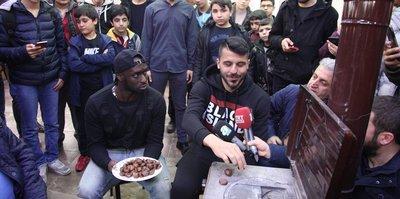Yeni Malatyasporlu futbolcular gençlerle buluştu