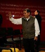 Dursun Özbek, Galatasaray'a veda etti