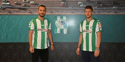 Atiker Konyaspor'dan çifte transfer