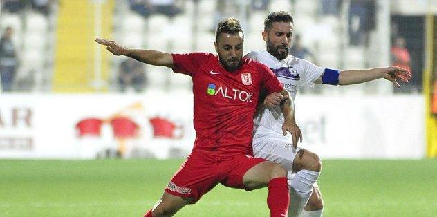 Afjet Afyonspor ile Balıkesirspor Baltok 1-1 berabere kaldı