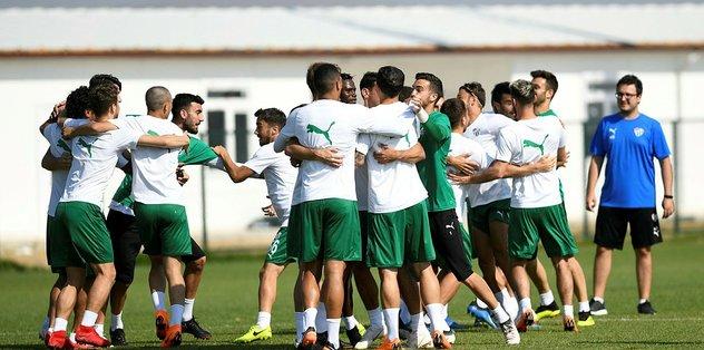 Bursaspor ilk hazırlık maçına çıkıyor