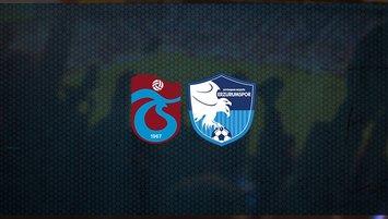 Trabzonspor - BB Erzurumspor maçı saat kaçta ve hangi kanalda?